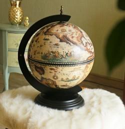 Глобус-бар 33002W-B