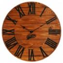 Настенные Часы Деревянные Glozis Kansas Rust