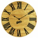 Настенные Часы Деревянные Glozis Kansas Gold