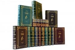 Подарочная библиотека «Библиотека зарубежной классики. 3000 лет в 100 томах» в кожаном переплете