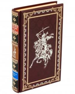 Подарочная книга «Людовик XIV Государство – это я» в кожаном переплете