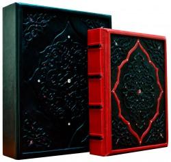 Подарочное издание «Сонеты» Уильяма Шекспира в кожаном переплете в коробке