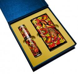 Подарочный набор «Престиж»: металлическая ручка в футляре, Xiaomi Power Bank, подарочная коробка