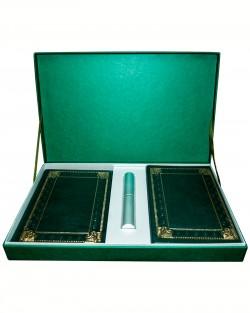 Подарочный набор «Бизнес»: ежедневник, визитница, ручка