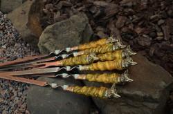 Набор шампуров  Рыжий лис
