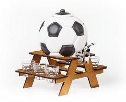 Настльний мини бар Футбольный мяч