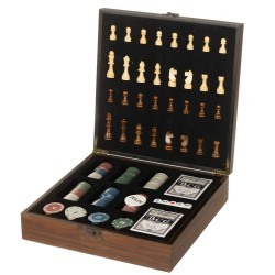 Игровой набор 2 в 1 шахматы, покер