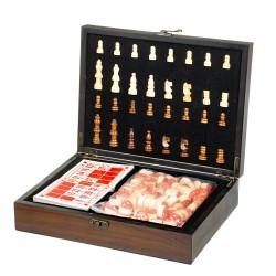 Игровой набор 2 в 1 шахматы и бинго