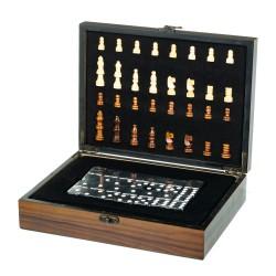 Игровой набор 2 в 1 шахматы и  домино