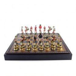 Набор шахматы+нарды+шашки  Наполеон  ITALFAMA