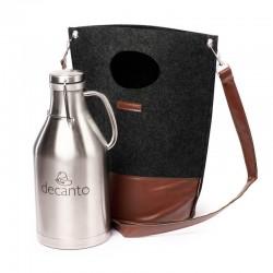 Гроулер-термос для пива  с сумкой