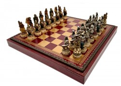 Шахматы Italfama Skeletons R70637+219GR