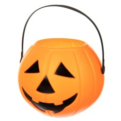 Декор кашпо  на Хэллоуин  Тыква