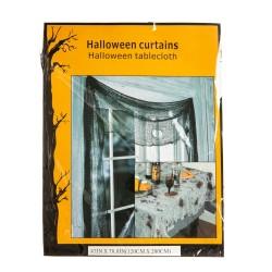 Декор на Хэллоуин  Черная штора