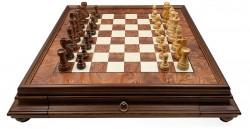 Шахматы Italfama Classico Palissandro Dorato G250-78+435R