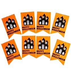 Растяжка на Хэллоуин  Happy Halloween