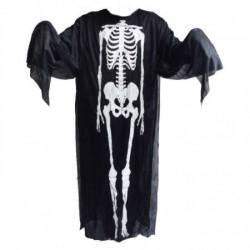Костюм скелета накидка