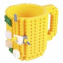 Кружка Лего конструктор желтая