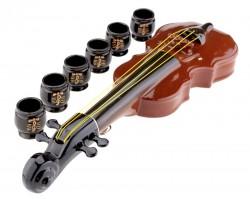 Подарочный набор  Скрипка + 6 рюмок