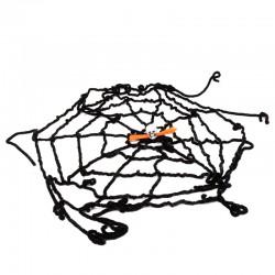 Декор на Хэллоуин Паутина с черепом