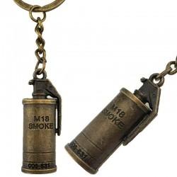 Брелок металлический дымовая граната M18