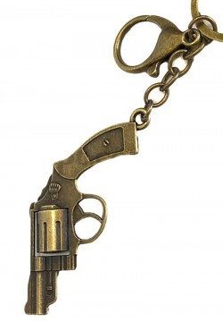 Брелок в упаковке  револьвер  большой