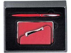 Подарочный набор визитница и ручка