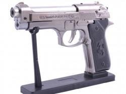 Зажигалка пистолет  Беретта  с подставкой