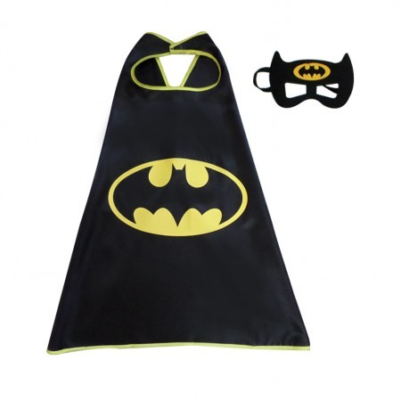 Детский карнавальный костюм с маской Бэтмен