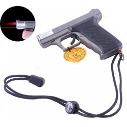 Зажигалка пистолет  и  Лазер