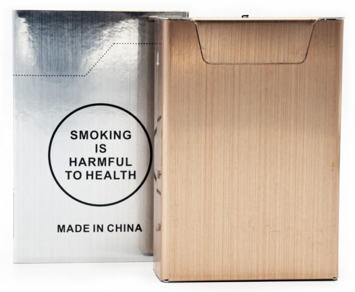 Портсигар с зажигалкой юсб на 20 сигарет