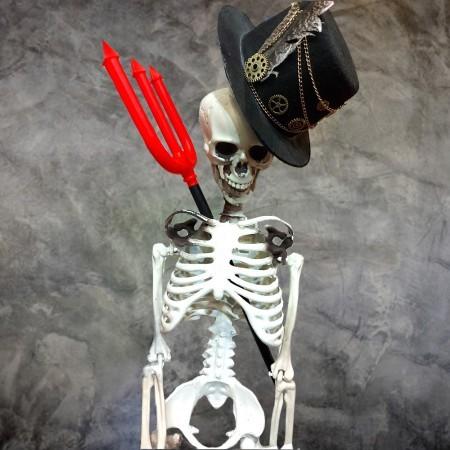 Декор Скелет 100см
