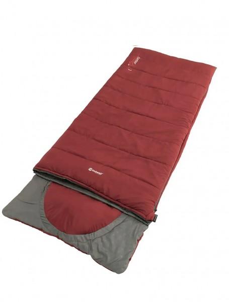 Спальный мешок Outwell Contour Lux Reversible/-3°C Red Righ