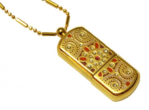 Флешка India Gold