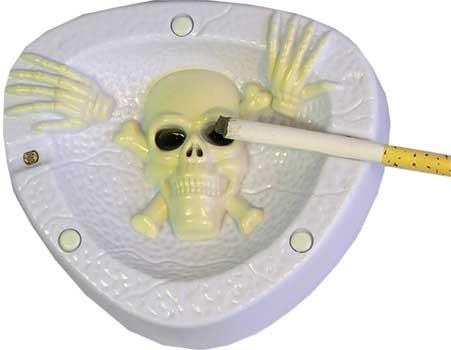 Пепельница кашляющая Черепок