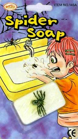 Мыло с пауком