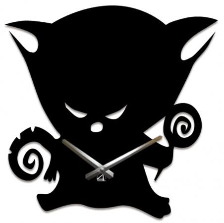 Настенные часы Кот с леденцом