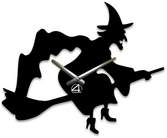 Настенные часы Ведьма