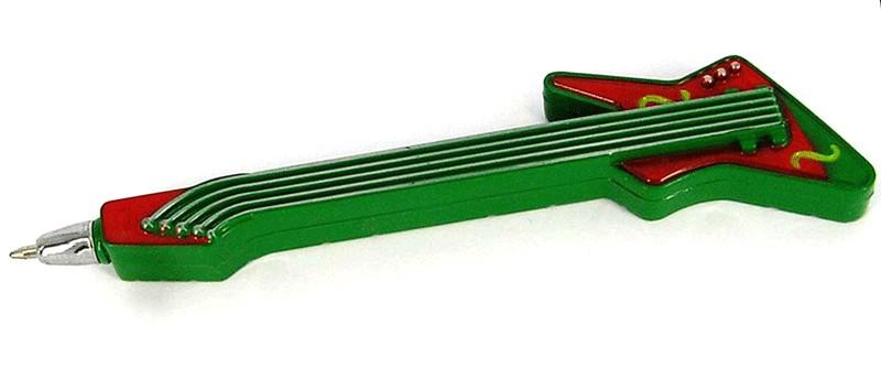 Ручка - гитара - магнит