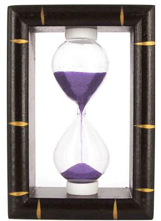 Песочные часы книжная рамка