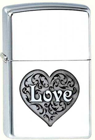 Зажигалка ZIPPO GIRLS' LIFE DL-LOVE 110.068