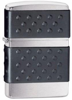 Зажигалка бензиновая ZIPPO BLACK ZIP GUARD 200ZP