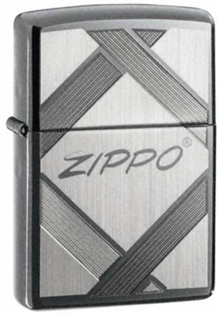 Зажигалка ZIPPO UNPARALLELED TRADITION BLACK ICE 20969