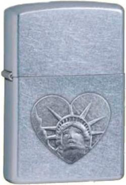 Зажигалка бензиновая Zippo Statue Of Liberty Head 24366