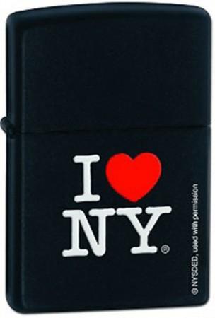 Зажигалка 218 I LOVE NY 24798