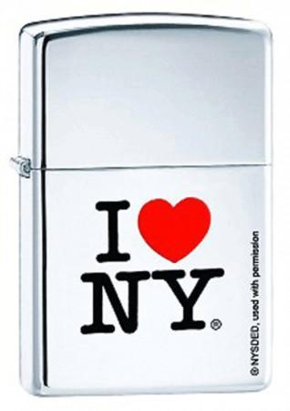 Зажигалка 250 I LOVE NY 24799
