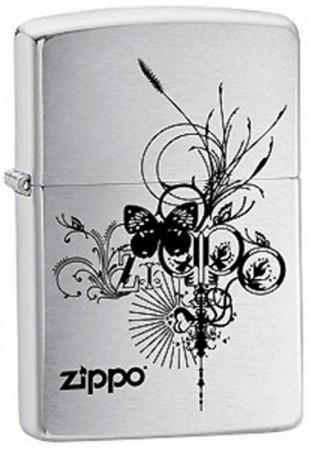 Зажигалка 200 ZIPPO BUTTERFLY 24800