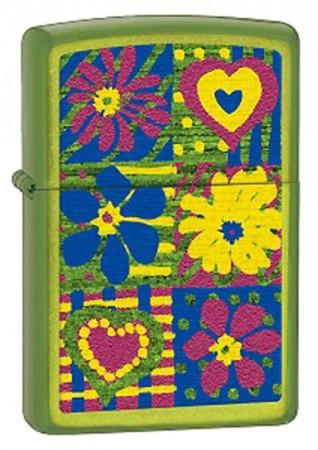 Зажигалка 24513 FUNKY FLOWERS 28057