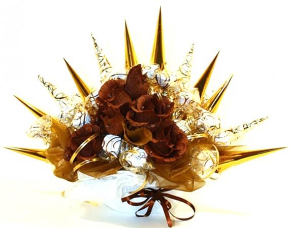 Букет из конфет Шоколадное настроение