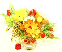 Букет из конфет Осенние краски